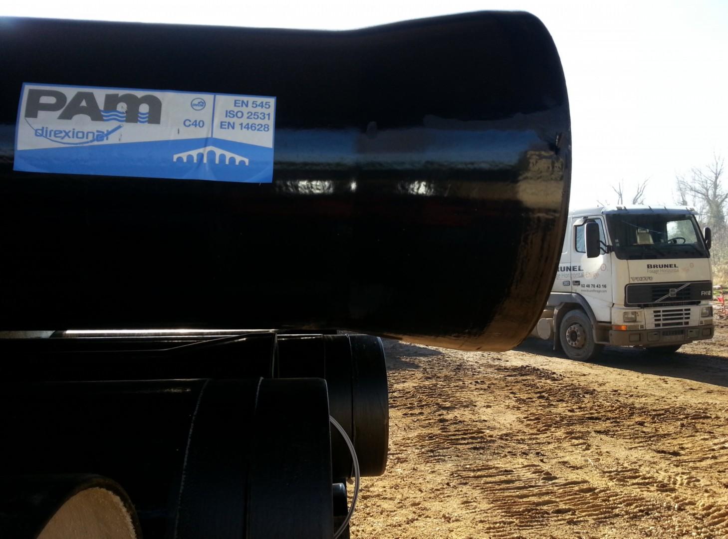Saint-Gobain PAM Condotta Direxional - Microtunelling sotto la Loira