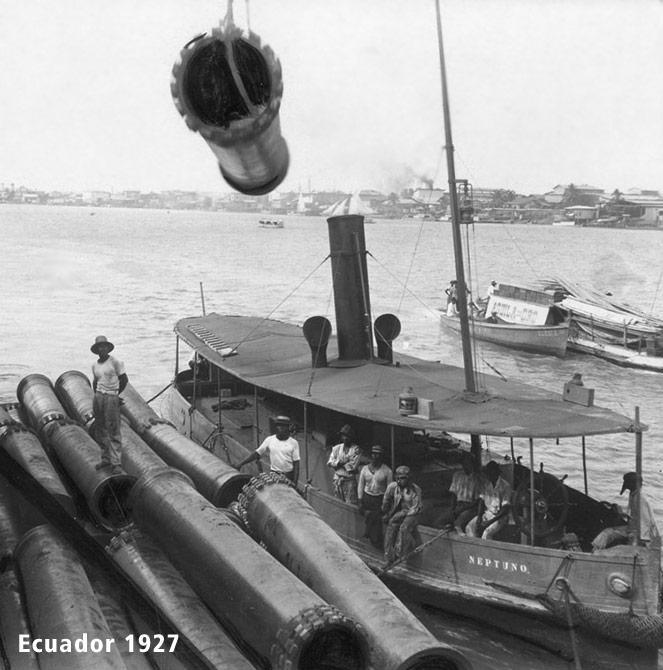 Tubi in ghisa sferoidale fabbricati in Ecuador - La storia di Saint-Gobain Pam