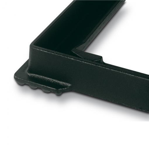 PARXESS ® - L'ampio telaio del chiusino in ghisa sferoidale